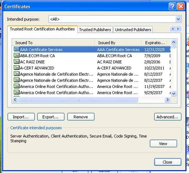Trust, Trust, Trust—the Root of a Useful Certificate